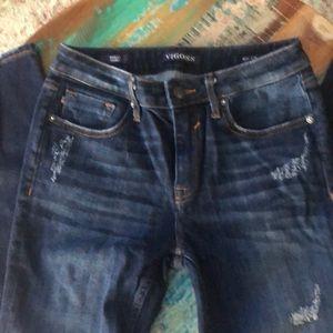 Vigoss skinny jeans never worn